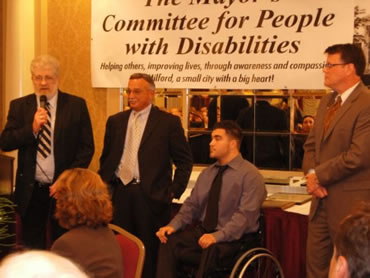 Mayor's Committee for Peoples with Disabilities Banquet