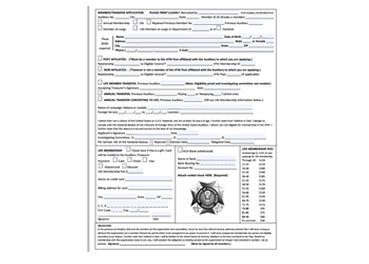 Auxiliary Membership Application